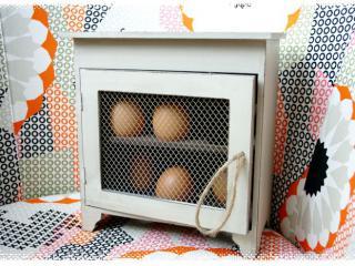 Gdzie trzymam swoje jaja / Wo ich meine Eier halte