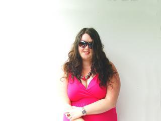 Pink Asos Maxi Dress